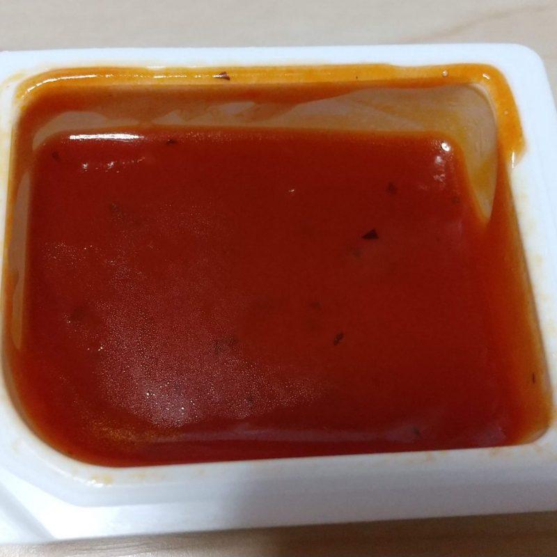チキンマックナゲットピリ辛ガーリックトマトソース2